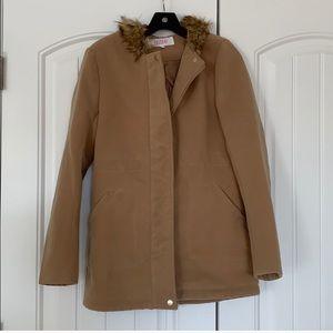 Camel Winter Coat I'M MOVING- PRICE SLASHED